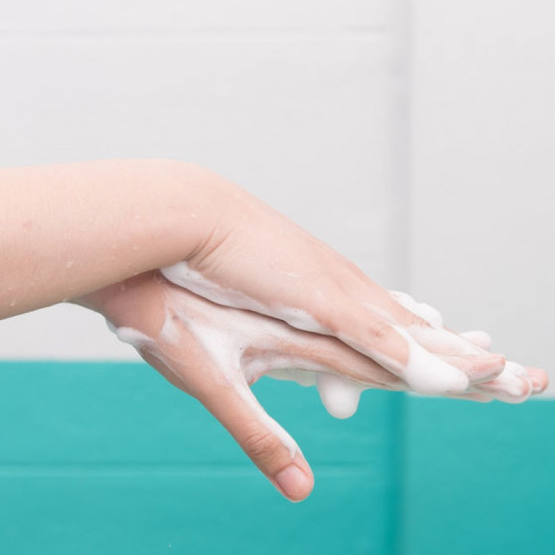 Handen wassen : DOEN!